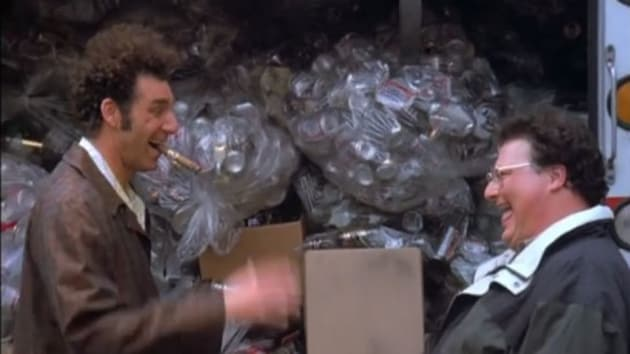 Image result for newman recycling