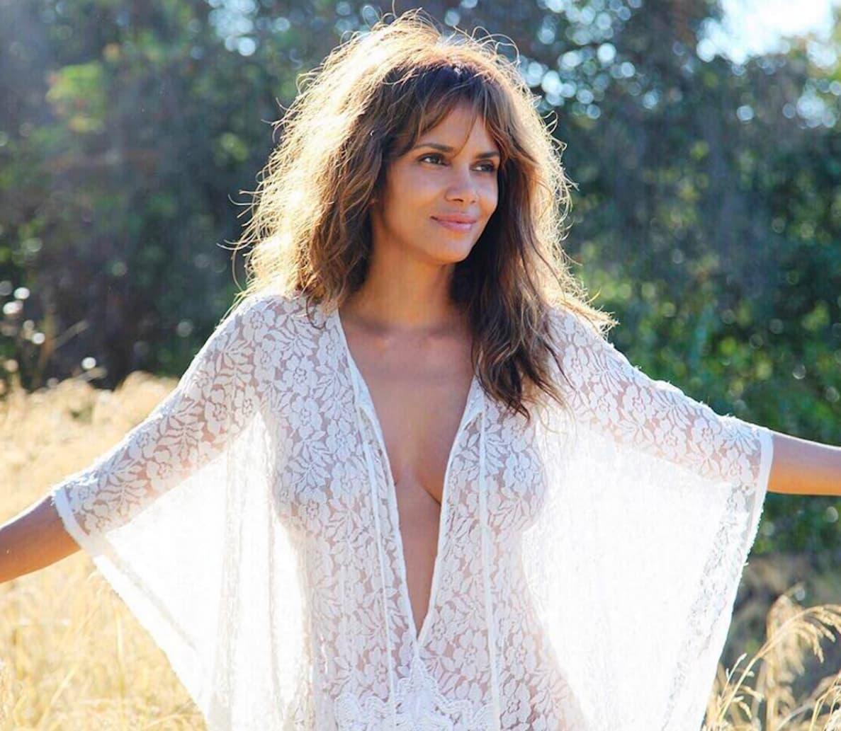 Selfie Halle Berr nude (14 photo), Tits, Paparazzi, Instagram, braless 2018