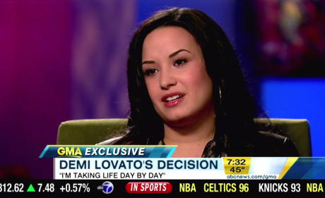 Demi Lovato Interview Photo