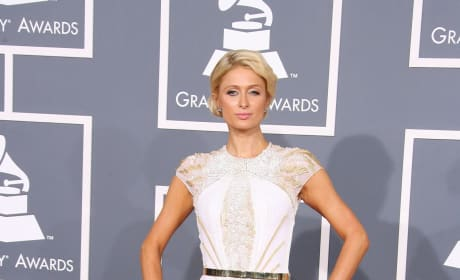 Paris Hilton at the Grammys