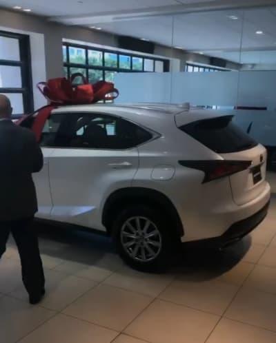 Tarek El Moussa buys nanny new car