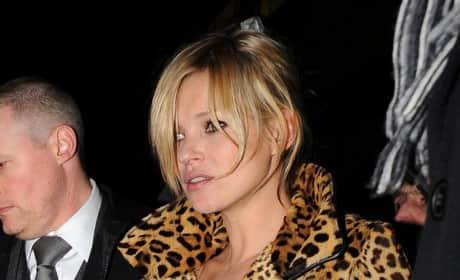 Stylish Kate Moss