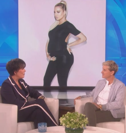 Kris Jenner and Ellen