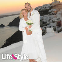 Tara Reid and Zack Kehayov Wedding Pic