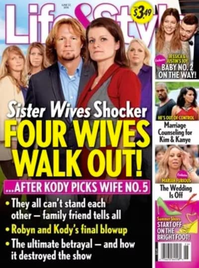 Sister Wives Trouble??