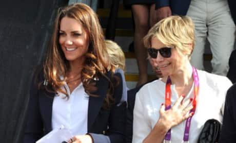 Kate Middleton's Blue Blazer