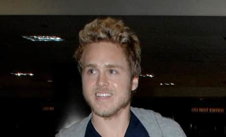 Spencer Pratt at LAX
