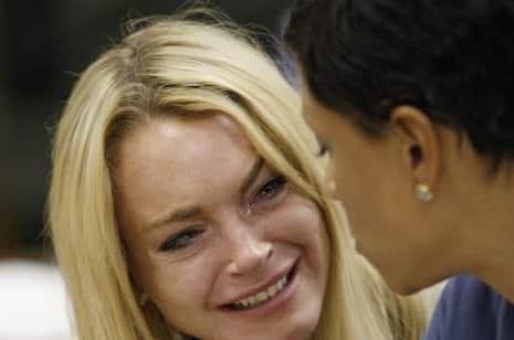 Lohan Crying