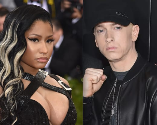 Eminem-Nicki Minaj Split
