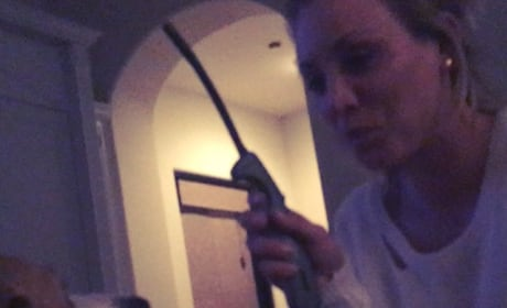 Kaley Cuoco Gets Drunk, Plays With Fire, Dogs
