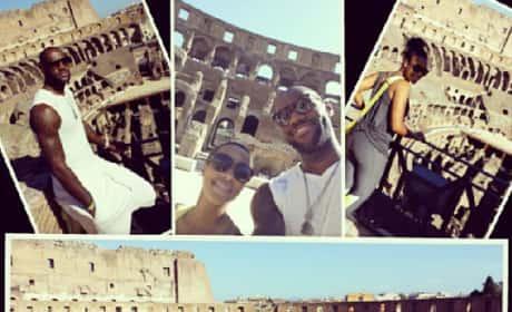 LeBron Honeymoon Photos