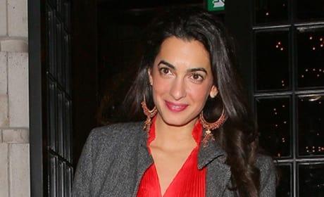 George Clooney and Amal Alamuddin Video