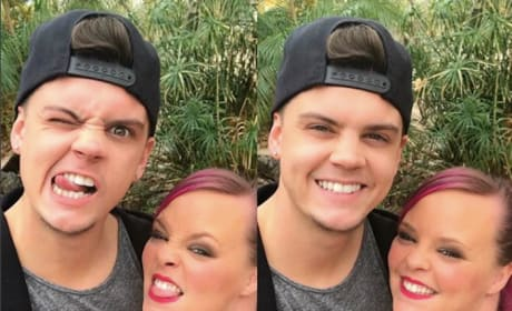 Catelynn and Tyler Make Faces