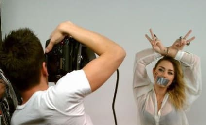 Miley Cyrus Poses for NOH8 Campaign