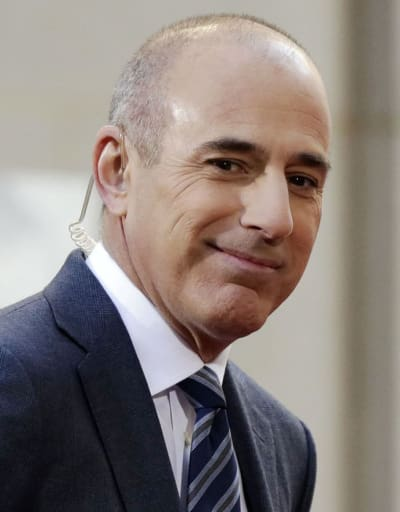Matt Lauer at NBC