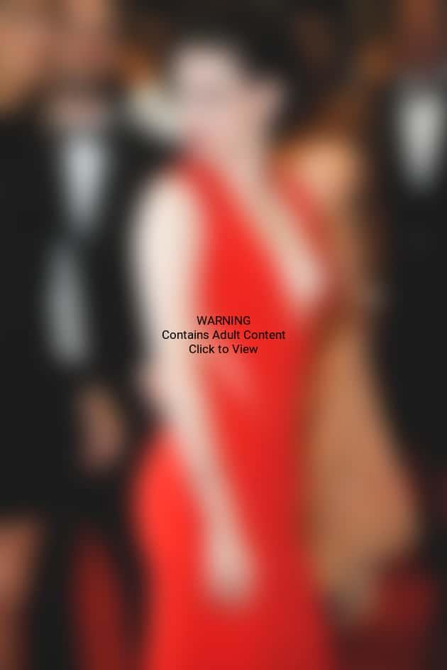 Kristen Stewart in a Red Dress