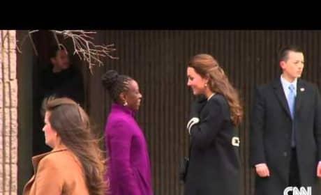 Kate Middleton Arrives in New York City