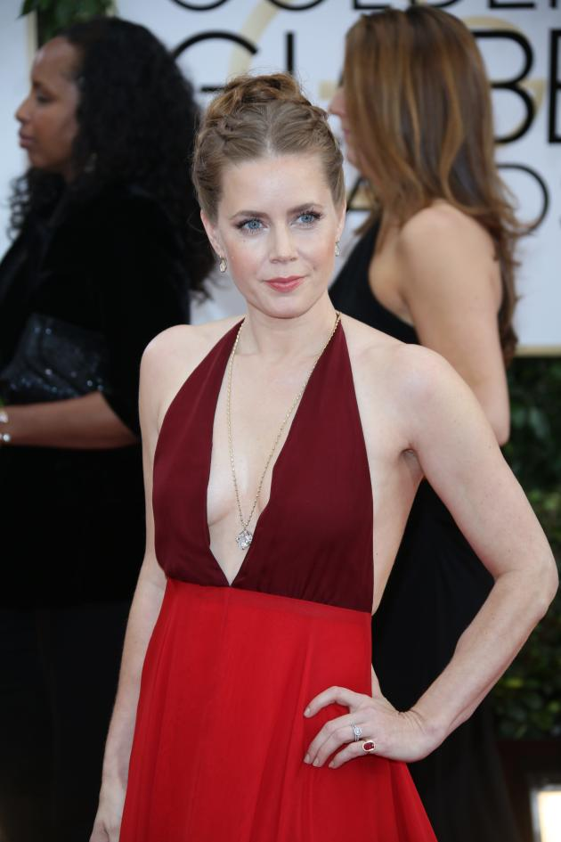 Amy Adams at 2014 Golden Globes