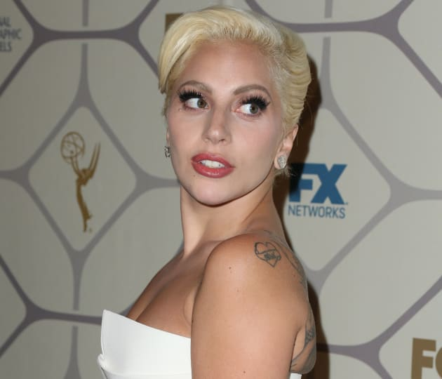 Lady Gaga at the Emmy Awards