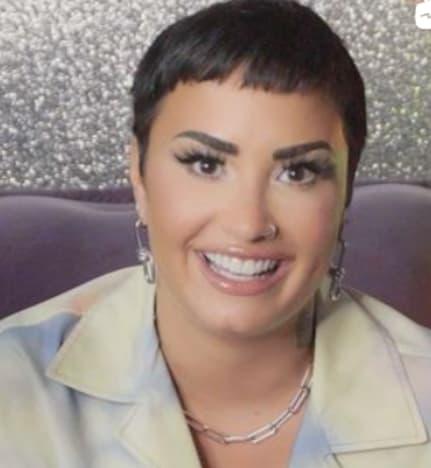 Demi Lovato on Her Instagram