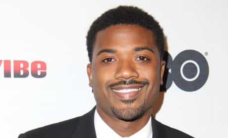 Ray J on the Red Carpet