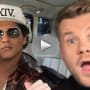 Bruno Mars on Carpool Karaoke: Was It 24K Magic?