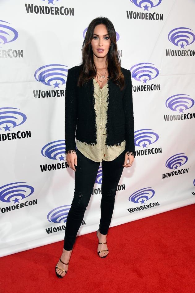 Megan Fox WonderCon Pic