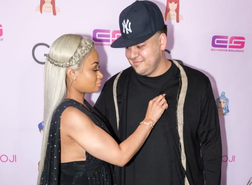 Blac Chyna with Rob