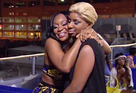 Hugging It Out in Atlanta