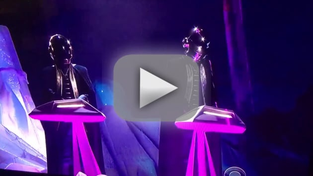 Daft punk the weeknd grammy performance was as futuristic as you