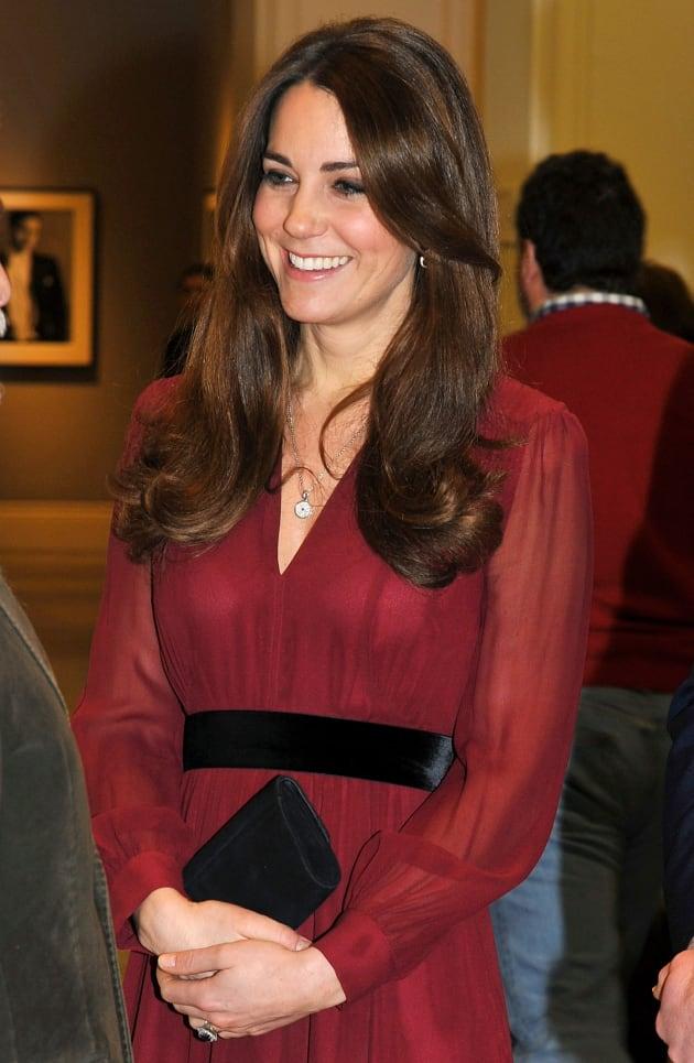 Kate Middleton Smiling Pic
