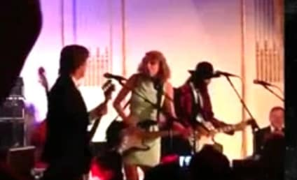 Taylor Swift Rocks Out With Paul McCartney at SNL 40 After Party!