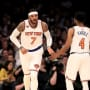 Carmelo Anthony as a Knick