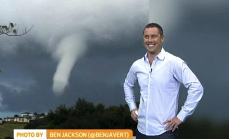 Reporters Can't Stop Laughing Over Penis-Shaped Weather Pattern