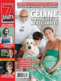 Pregnant Celine Dion