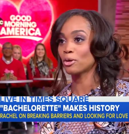 Rachel Lindsay on GMA