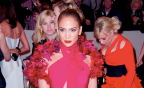 J. Lo at the MET Costume Gala