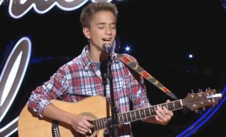 Daniel Seavey on American Idol Season 14