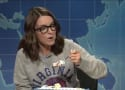 Tina Fey Slams Donald Trump on Weekend Update, Eats Cake