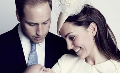 Kate Middleton, Prince William & Prince George: Touching New Photo Released