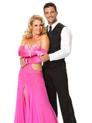 Mark Ballas and Melissa Joan Hart