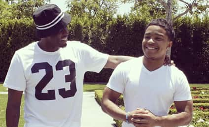 Diddy and Son: All Smiles After Alleged Assault Arrest