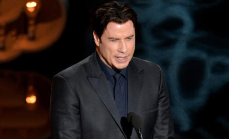 John Travolta Destroys Name of Idina Menzel