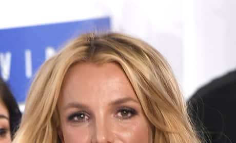 Britney Spears Attends 2016 MTV VMAs