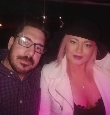 Matt Baier with Amber Portwood