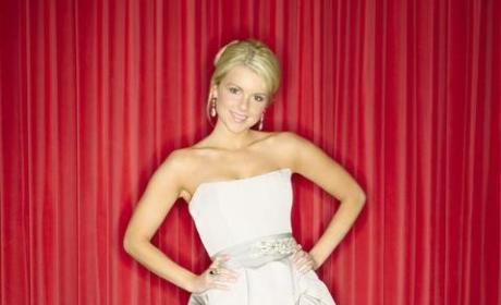 Ali in a Wedding Dress