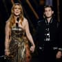 Celine Dion Accepts Billboard Icon Awards From Rene Charles Angelil