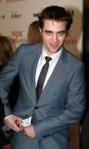Photograph of Robert Pattinson