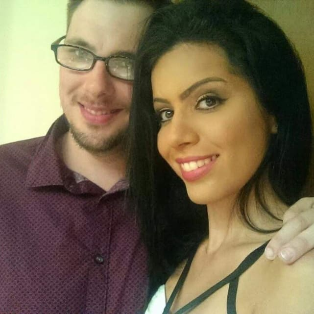 Larissa and colt in happier times
