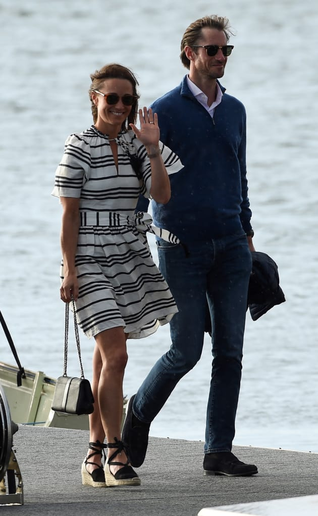 Pippa Middleton and James Matthews, By The Water